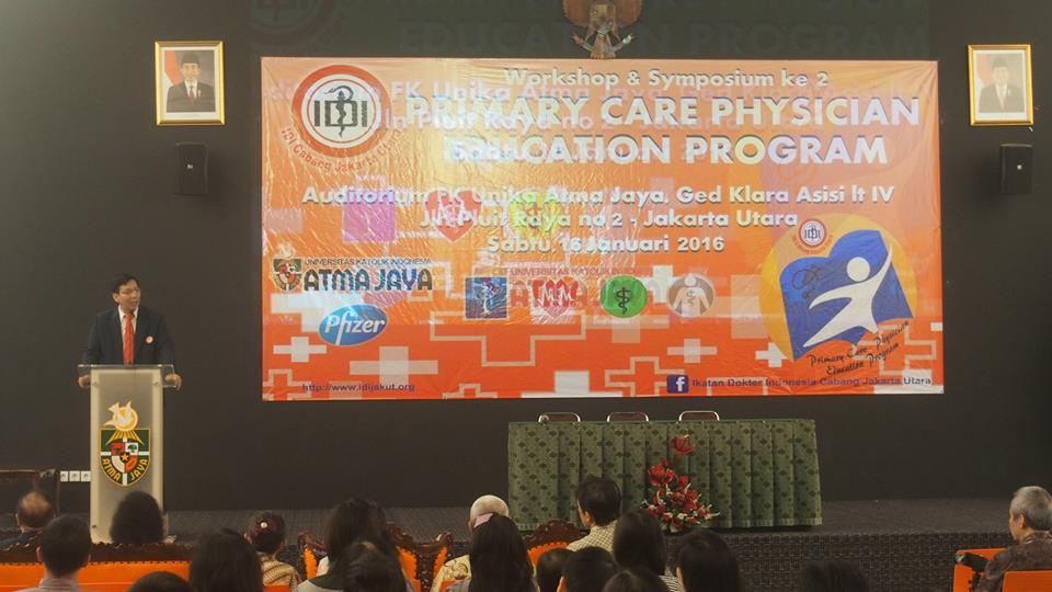 Primary Care Physician Education Program II - 15 Januari 2016