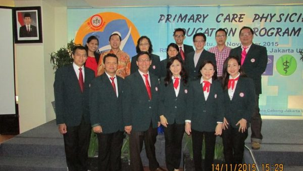 Primary Care Physician Education Program I – 17 November 2015