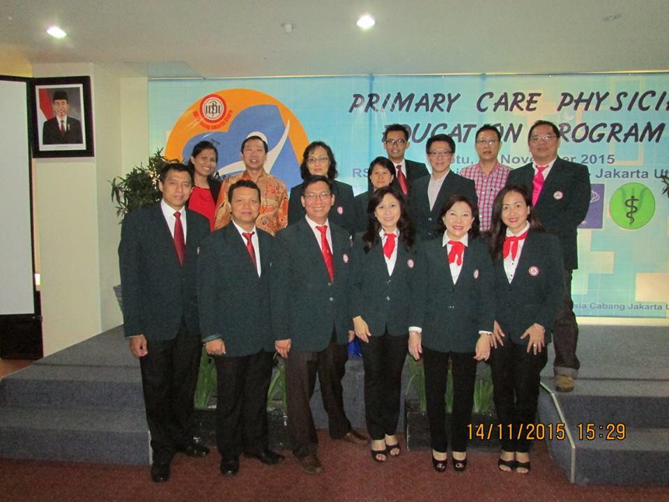 Primary Care Physician Education Program I - 17 November 2015