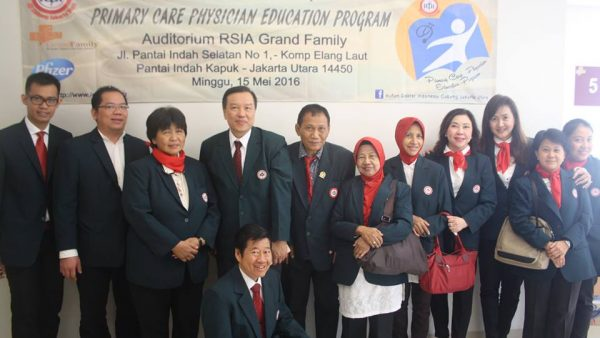 Primary Care Physician Education Program IV – 15 Mei 2016